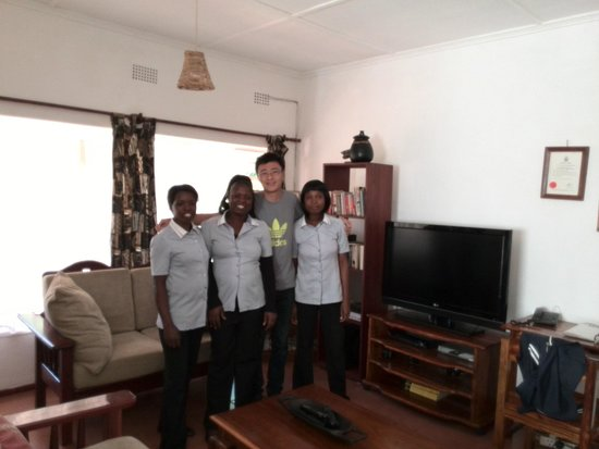 Tabonina Guesthouse: with nice staff