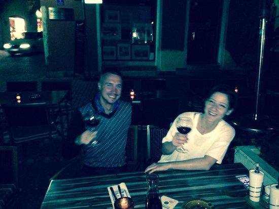 Kostas: With my love in the best restorant!