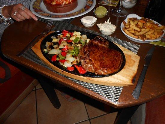 Palardi Tex-Mex: My juicy mouth-watering steak
