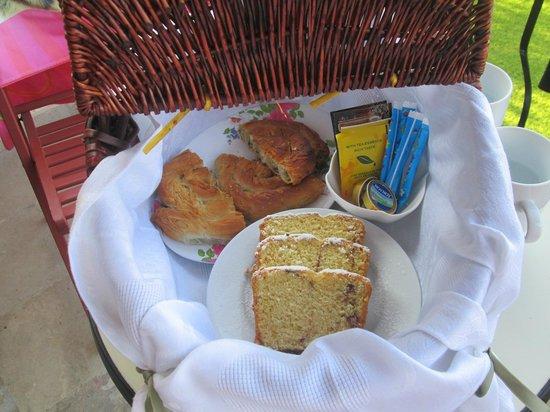 Hotel Dendrolivano: Cestino colazione