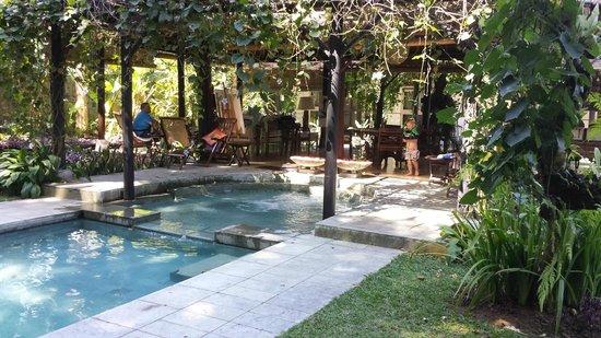 Villa Puri Darma Agung: Pool and living areas