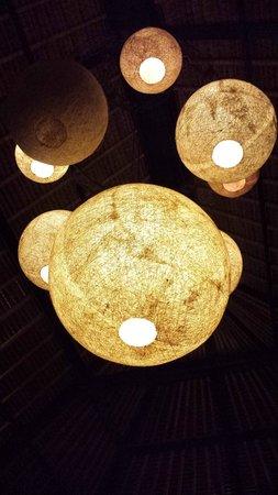 فيلا بوري دارما أجونج: Lanterns in the Dining