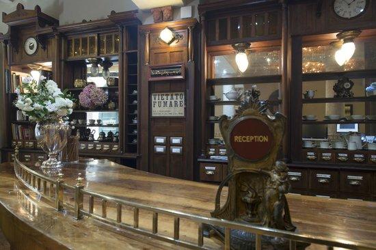 Santa Marta Suites: La reception