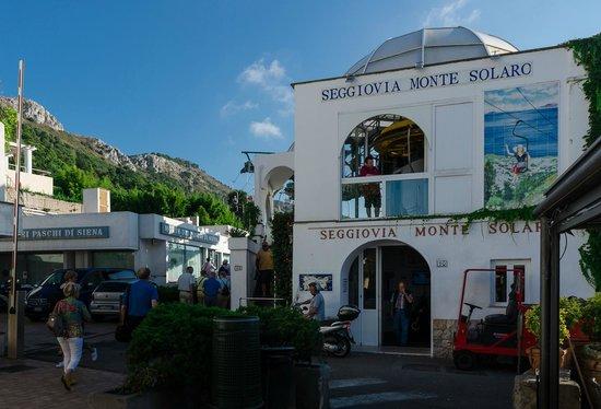 Mount Solaro chairlift