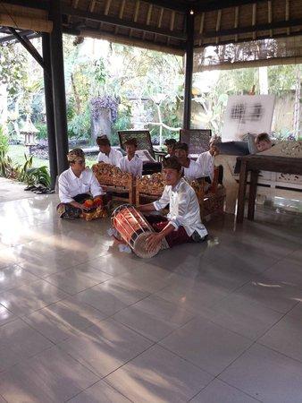فيلا بوري دارما أجونج: Balinese musicians