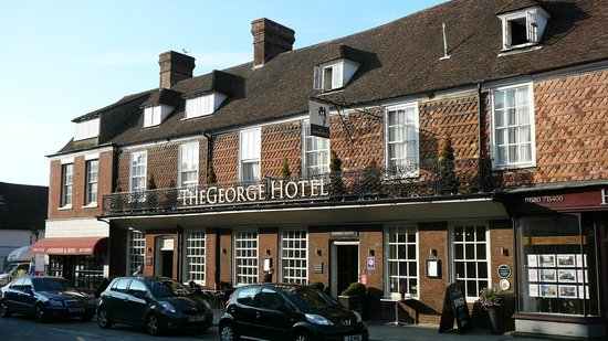 The George Hotel: Frontside