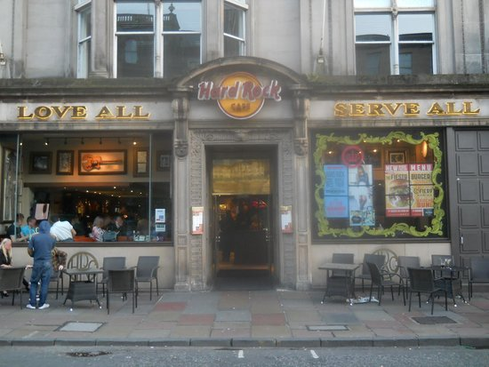 Hard Rock Cafe Edinburgh Shop