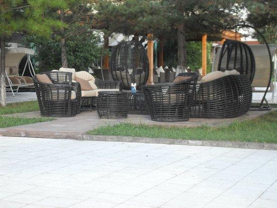 Hotel Dreamland Oasis: Sittting area