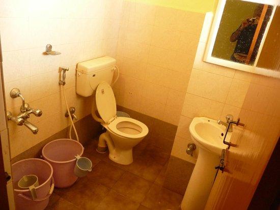 Hotel Mayura Yatrinivas Mysore: Toilet