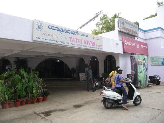 Hotel Mayura Yatrinivas Mysore: Facade