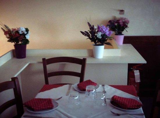 Pinsa Del Grillo: la sala