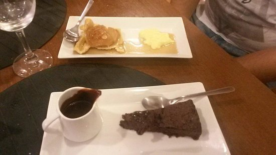 La Formiga Picona: Pastel de chocolat and tarta taten casera