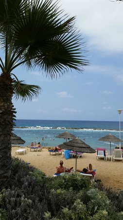 Chlorakas, Cyprus: Beach area