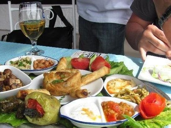Very nice restaurant in kalkan picture of sofra terrace for Terrace bar and food