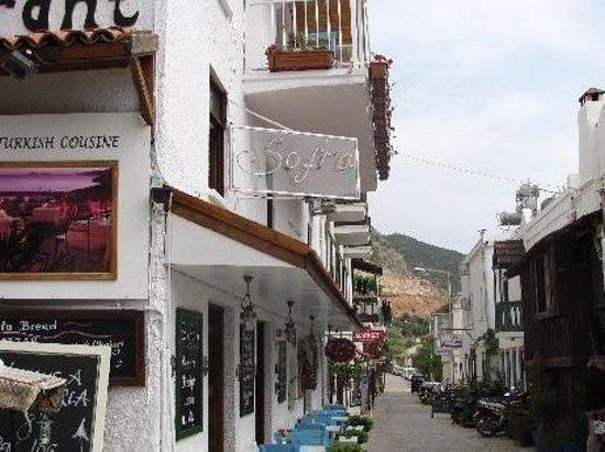 Sofra Terrace Restaurant: Very nice restaurant in Kalkan
