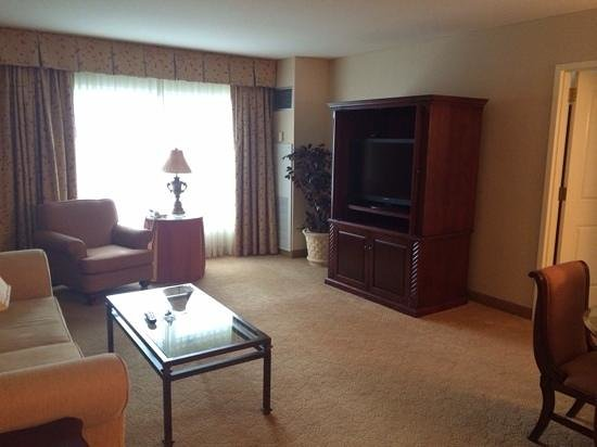 ‪‪Resorts Casino Hotel‬: living room area off master #5108‬