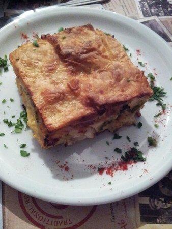 Aktaion: Spinach e Gamberetti Pie...deliziosa!!