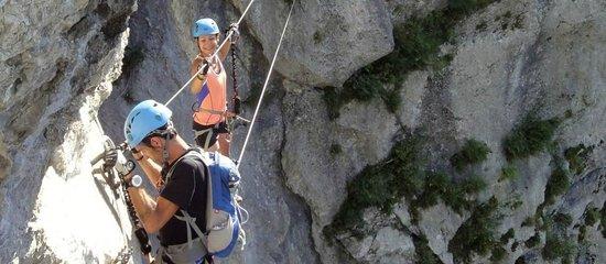 Mountacala Annecy: Via ferrata à Annecy avec Mountacala