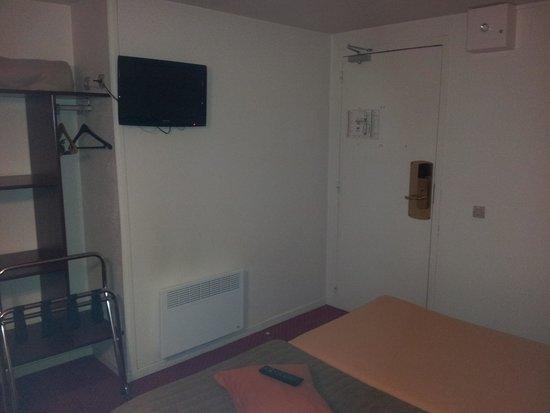 Hôtel balladins Arras : chambre double 2lits simple