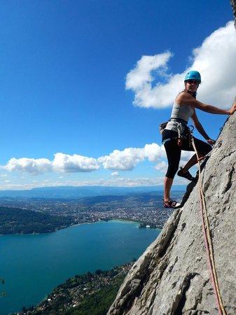 Mountacala Annecy: Escalade à Annecy avec Mountacala