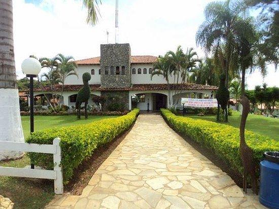 Siriema Village Eco Resort: Entrada do Hotel