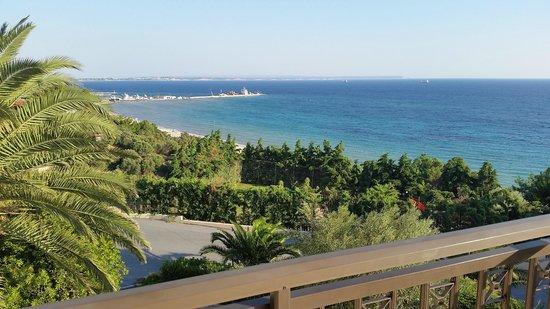 Ikos Oceania: View from Junior Suite 1224