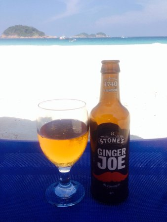 Sari Pacifica Hotel, Resort & Spa - Redang Island: Ginger beer from the bar.