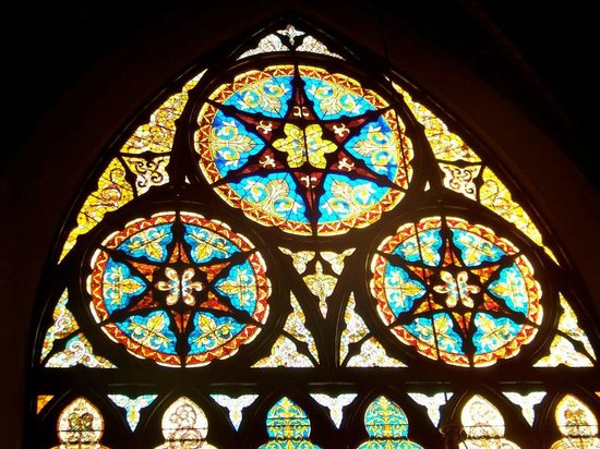 Sweetest Heart of Mary Roman Catholic Church: The award winning stained glass