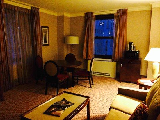 ذا روزفلت هوتل نيويورك سيتي: Living room