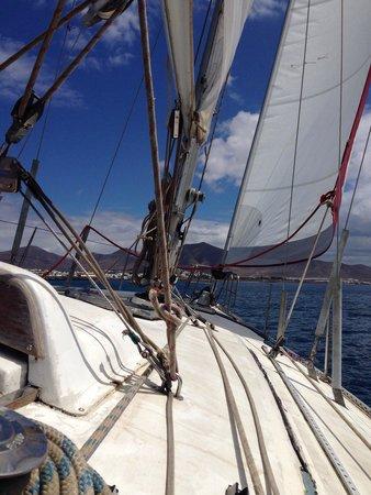 Alex Sailing: Magnifique matinée et agréable moment de détente. Idéal pour une journée, à plusieurs...
