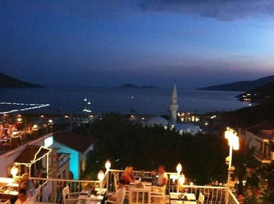 Agora Restaurant: After getting dark