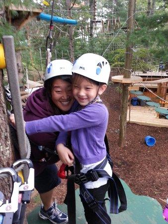 Asheville Zipline Canopy Adventures: The mighty adventurer!