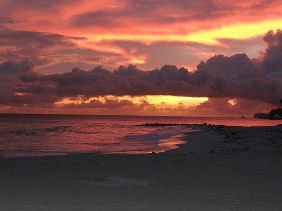 أوشن تو ريزورت آند رزيدنسز: Sunset on the beach