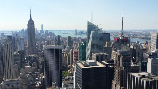 Looking South to Freedom Tower - Picture of Top of the ...