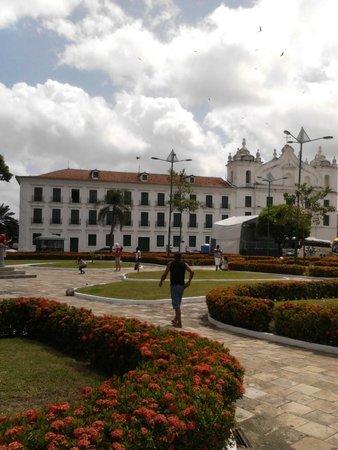 Espaco Cultural Casa das Onze Janelas: Igreja de Santo Alexandre (hoje Museu de arte sacra)