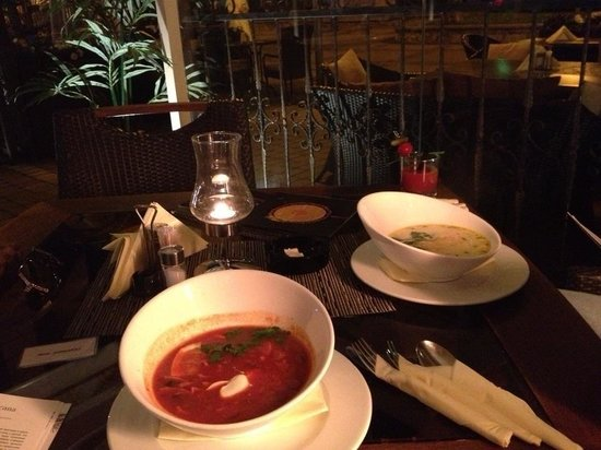 Majorenhoff: Солянка и сырный суп с лососеммм...
