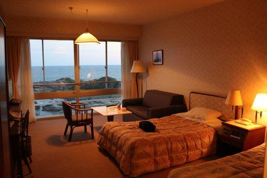 Shiosai Resort Kamogawa: 洋室ツインルーム