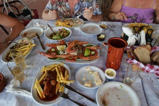 Taverna Galini: Очень вкусно!
