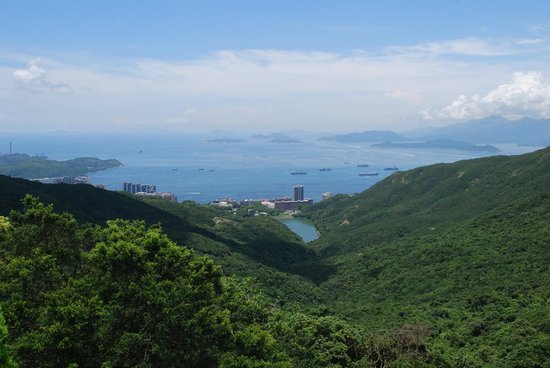 Victoria Peak (The Peak): View from the FREE observation deck