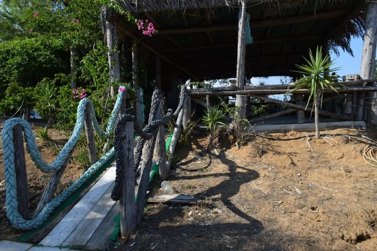 Taverna Galini: Вход на веранду