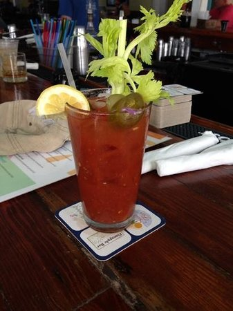 Southernmost Beach Cafe: Bloody Mary Key West style