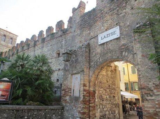 Mura di Lazise: sept 2014