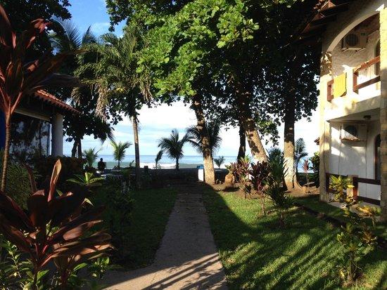 فويجو دي سول: Vista do hotel para a praia