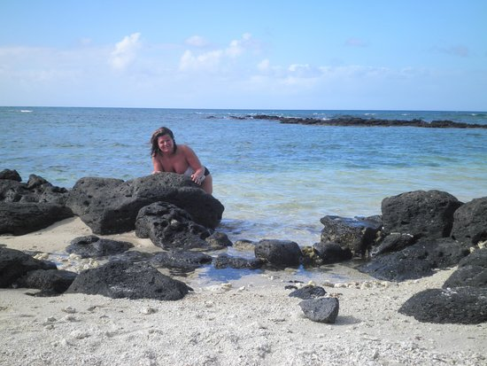 Mauricia Beachcomber Resort & Spa: sea view