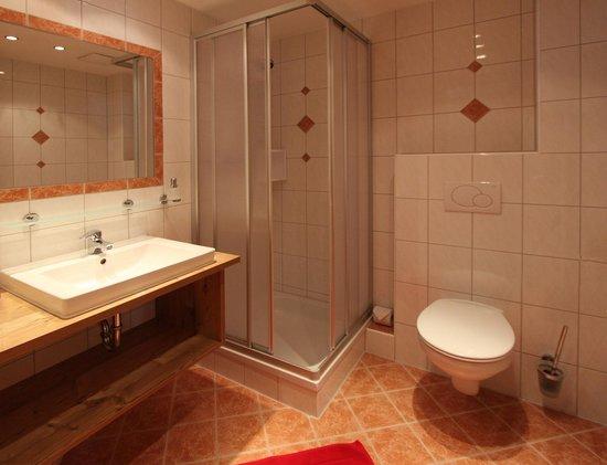 جي بي جونديلبليك: Dusche WC im Appartement