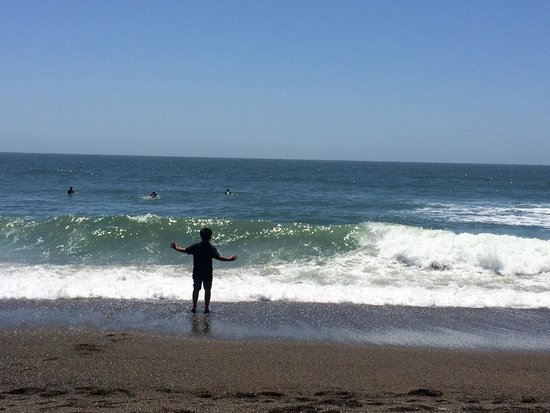 Rodeo Beach: Very cold!