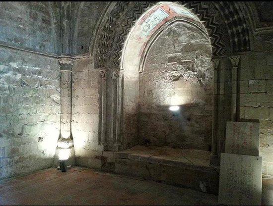 Abbazia di Santo Spirito: interno del museo s.spirito