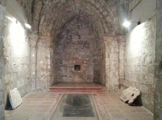 Abbazia di Santo Spirito: interno museo santo spirito