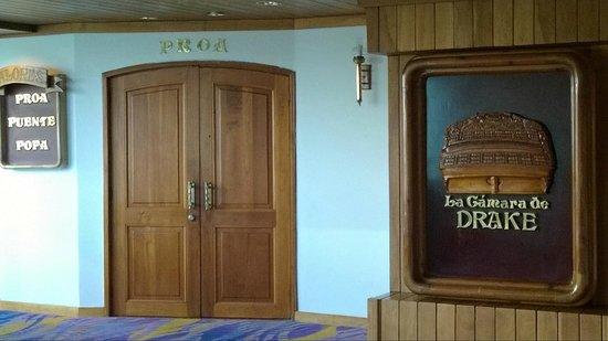 هيلتون قرطاجنة: La Cámara de Drake: Salones para eventos