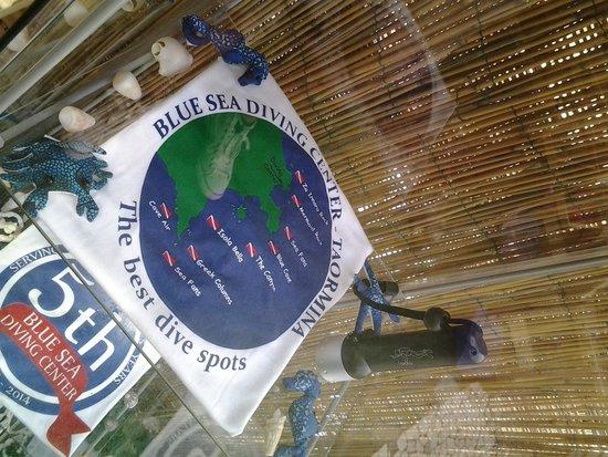 Blue Sea Diving Center: t shirt
